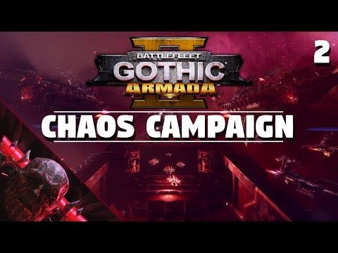 Battlefleet Gothic: Armada 2 | Chaos Campaign #2 - Hard/No Slow-mo | A Trustworthy Face