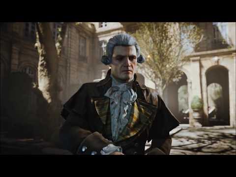 Assassin's Creed: Unity - All Co-Op Cutscenes (Chronological Order)