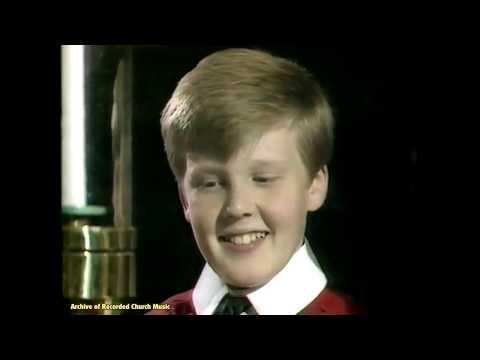 """BBC TV """"Close Harmony"""" 4: King's College Cambridge 1987 (Stephen Cleobury)"""