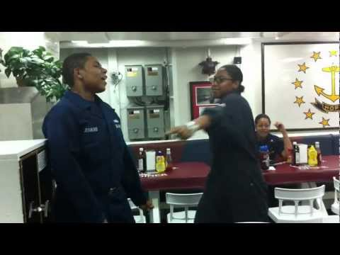 Lenny Williams Navy Karaoke!