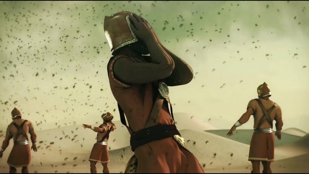 شاهد نهاية الملك النمرود و كيف كانت الذبابة سببا في موته