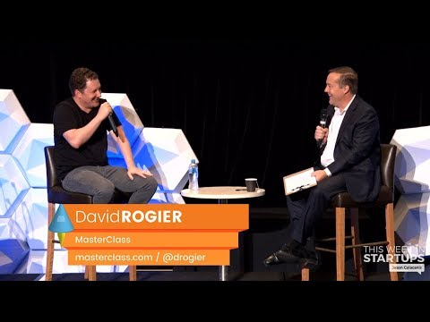 E952 David Rogier, MasterClass on shaping the future of online learning @LAUNCH Festival Sydney 2019