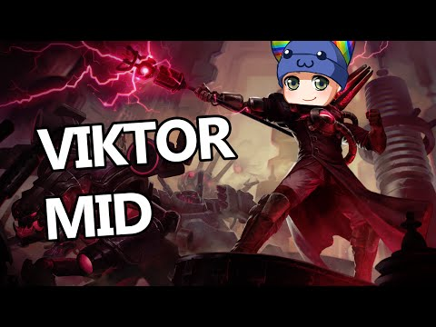 League of Legends - Creator Viktor Mid - Full Game Commentary