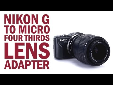 Nikon G Lens to Micro Four Thirds Camera Lens Mount Adapter from Fotodiox Pro