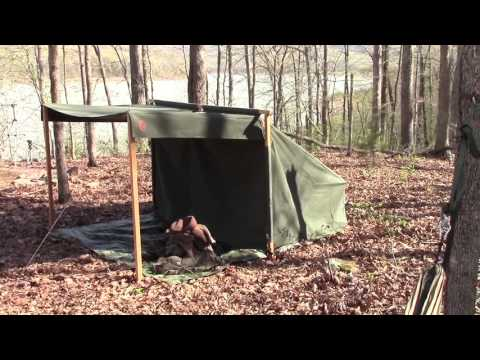 Campfire/Baker Tent Canvas Camping