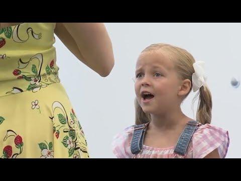 Utah girls audition for hit Broadway musical