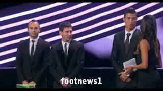 Cristiano Ronaldo: Real Madrid is better than Barcelona - Messi and Iniesta reactions :// 2012