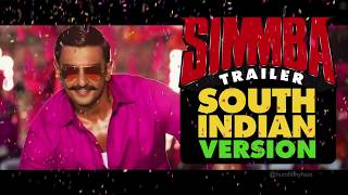 Simmba Trailer - South Indian Version