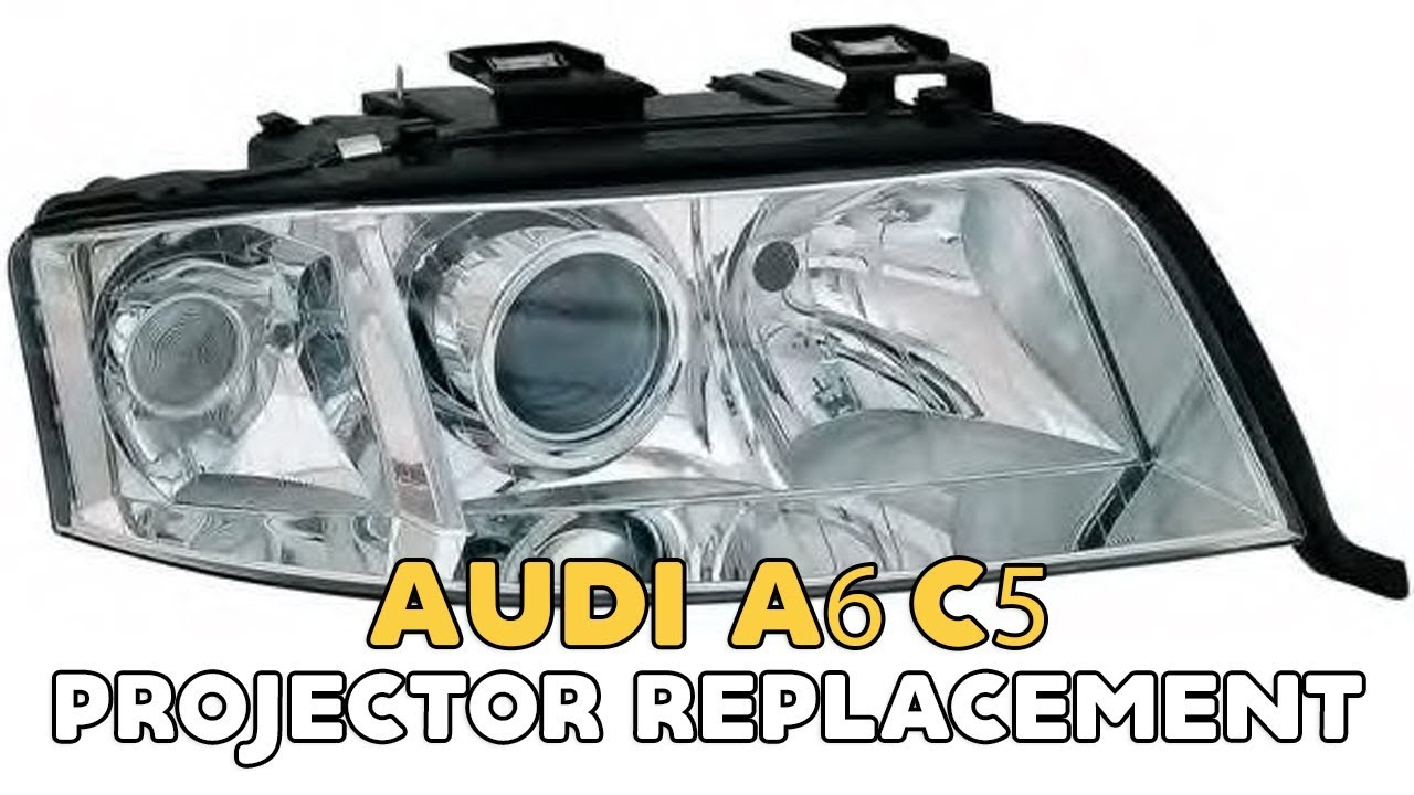 Audi A6 C5 halogen & xenon how to upgrade to Audi A6 C5 bi-xenon