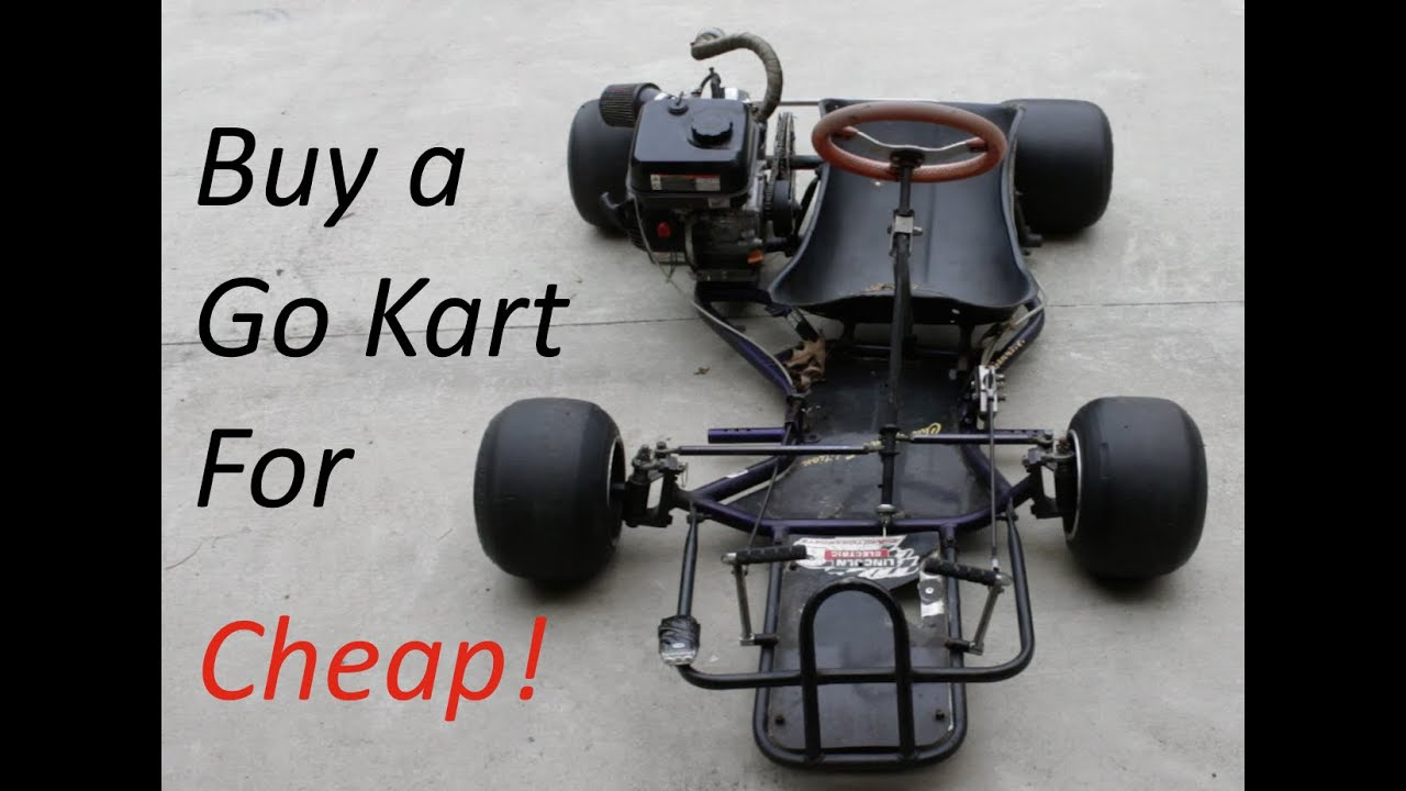 Go Kart Buyer\'s Guide- Old Racing Karts! - YouTube