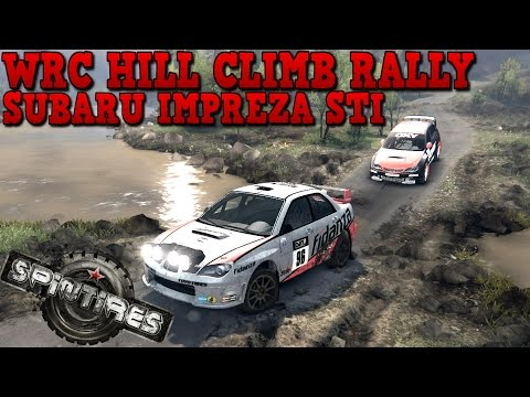 SpinTires | WRC | Hill Climb Rally | Subaru Impreza STi