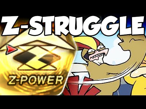 Is Z-Move Struggle POSSIBLE In Pokemon Sun and Moon?