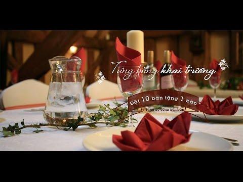 """Kịch bản cưới """"lãng mạn"""" đặc sắc nhất - Nhà hàng tiệc cưới Venus"""