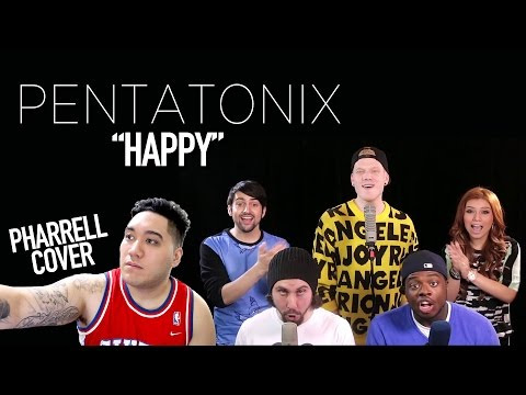 Pentatonix - Happy (Pharrell Cover) REACTION!!!