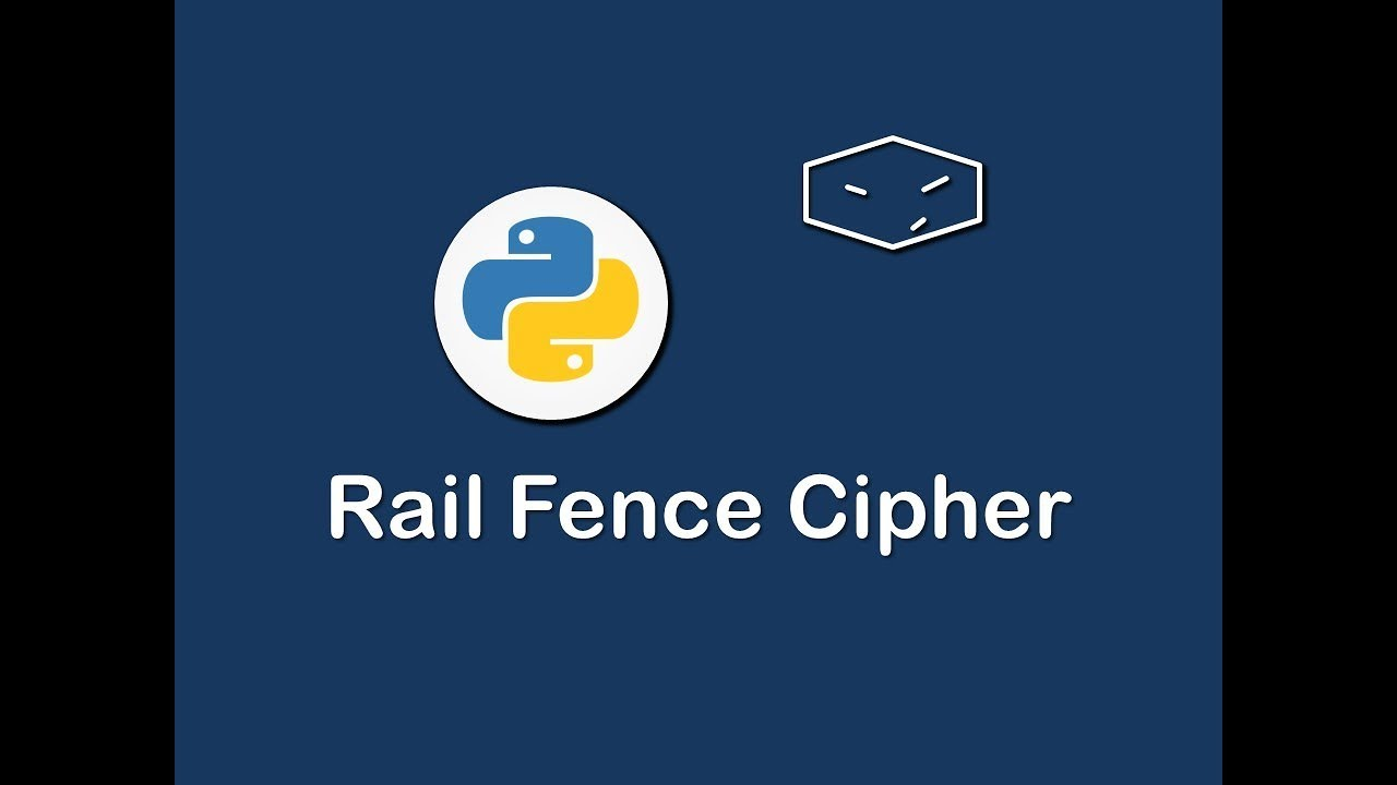 rail fence cipher in python by AllTech