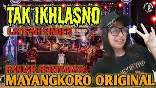 Download TAK IKLHASNO (Happy Asmara) - PANJAK PERTAMAX MAYANGKORO ORIGINAL VOC. LATIFAH