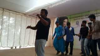 Mere angane mein stage perfomance