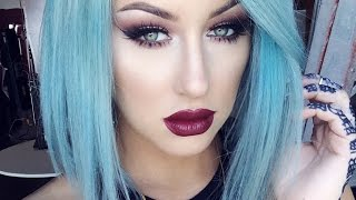 July favs + BLUE HAIR!? - Chrisspy Thumbnail