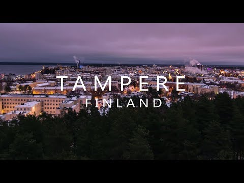 Tampere, Finland - 4K Timelapse