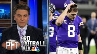 Kirk Cousins may be to blame for disappointing Vikings season | Pro Football Talk | NBC Sports