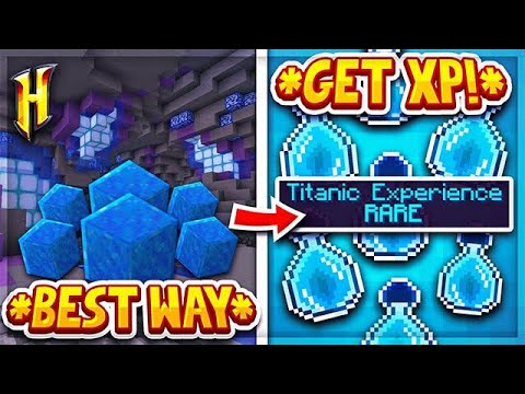 Hypixel Skyblock : THE THREE FASTEST WAYS TO GET XP! l Minecraft Skyblock  (68)