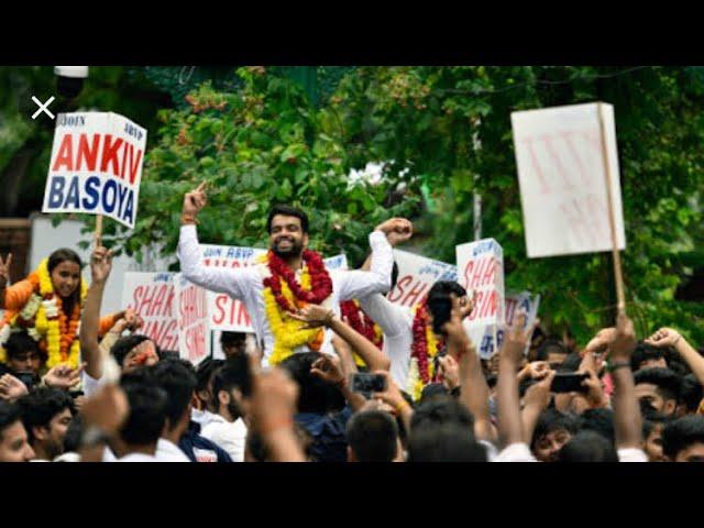 DUSU ELECTION 2018 || ABVP || ANKIV BASOIYA PRESIDENT