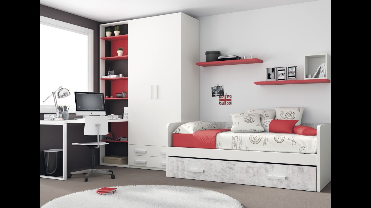 dormitorio juveniles para en blanco ideas decorar habitacin de blanco youtube