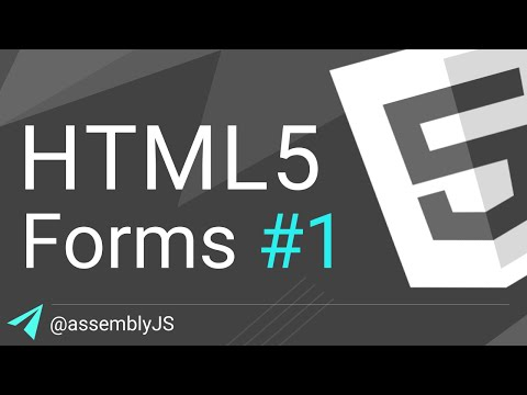 HTML Forms: Text, Email, & Password Inputs | HTML5 | #SigmaSchool