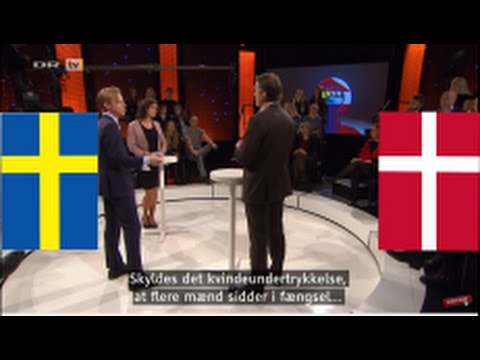 Denmark vs. Sweden: Feminism and gender equality (ENG subs)