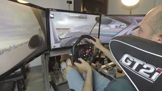 When a Pro Racing Driver trains on iRacing - LeMans24H - Porsche