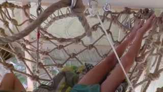 видео Веревочная сетка