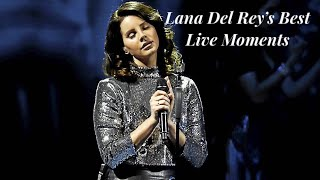 Lana Del Rey's Best Live Vocals/Moments