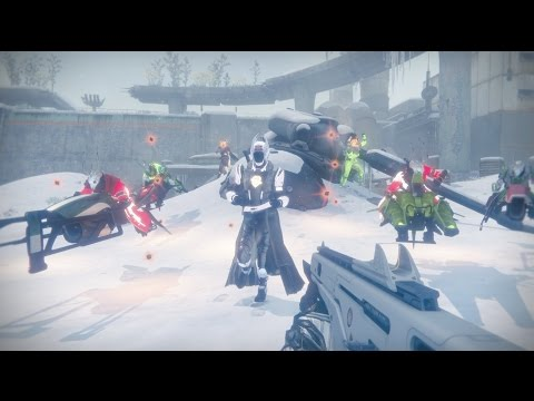 This joyous Destiny music video will put you in the holiday spirit