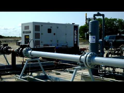 Hipower Natural Gas Generator at Eagle Ford Shale IV