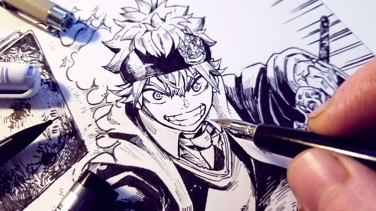 Drawing Asta As A HARRY POTTER Wizard Redesign - Black Clover | Anime Manga  Sketch