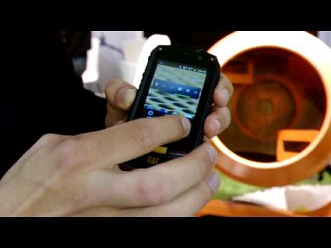 Cat B10 - Outdoor-Smartphone - Hands-On - IFA 2012 - androidnext.de