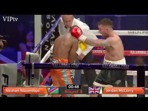 Jordan McCorry v Abraham Ndauendapo 10.11.2017 Victoria Warehouse