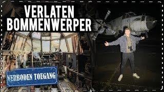 VERLATEN BOMMENWERPER / MARINE VLIEGTUIG