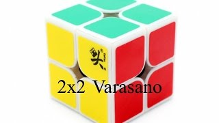 how to solve a 2x2 rubik s cube using varasano ortega method