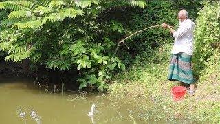 Believe This Fishing? Best Fishing Video | 70 years Old Man Fishing | Лучшее рыболовное видео