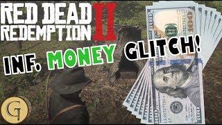 Red Dead Redemption 2 - INFINITE MONEY GLITCH! Faster Than Gold Bars Glitch