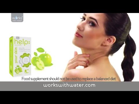Works With Water Television Advert - Natural Skincare Supplements