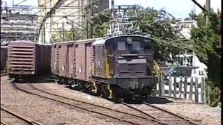 岳南鉄道比奈駅ほかのワム車入換作業です。 突放もあります。