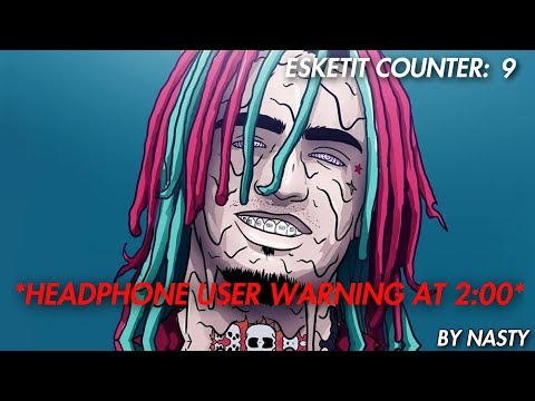 Lil Pump - ESSKEETIT but everytime he says ESKETIT the bass boosts [WARNING]