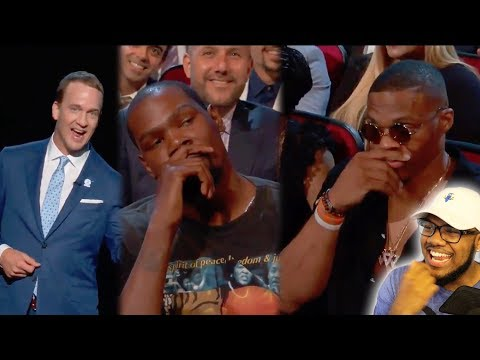 PEYTON MANNING MURDERS KEVIN DURANT at 2017 ESPYS! I