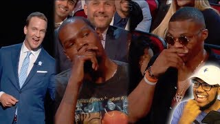 peyton manning murders kevin durant at 2017 espys i m in tears