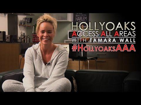 #HollyoaksAAA with Tamara Wall