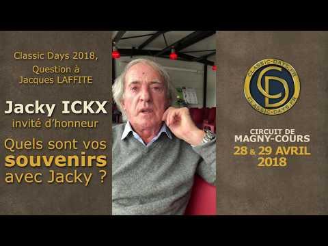 Classic Days 2018 - Jacques LAFFITE nous parle de Jacky ICKX