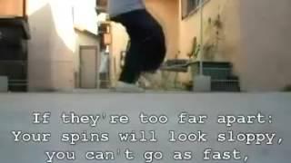 Уроки C-Walk! Элемент Fast Smooth Spins