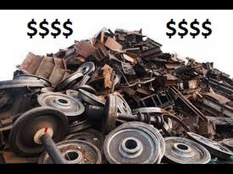 How to identify different scrap metals. A fun bag of scrap I found.